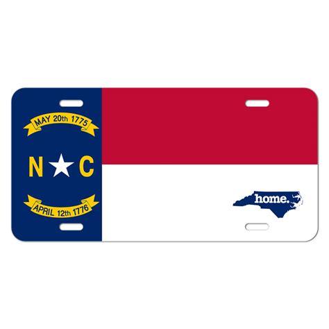 carolina nc home state novelty metal vanity license