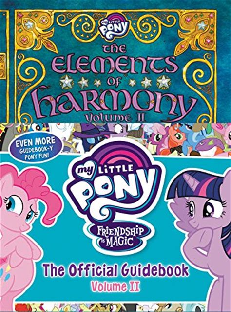 ii volume 2 books equestria daily mlp stuff my pony the elements