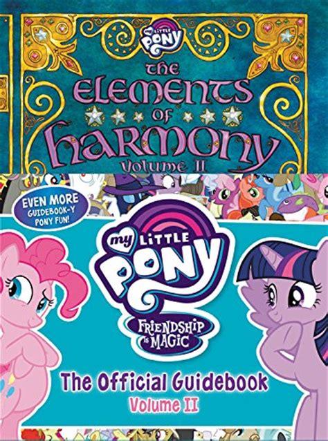 ii volume 2 books equestria daily mlp stuff my pony the elements