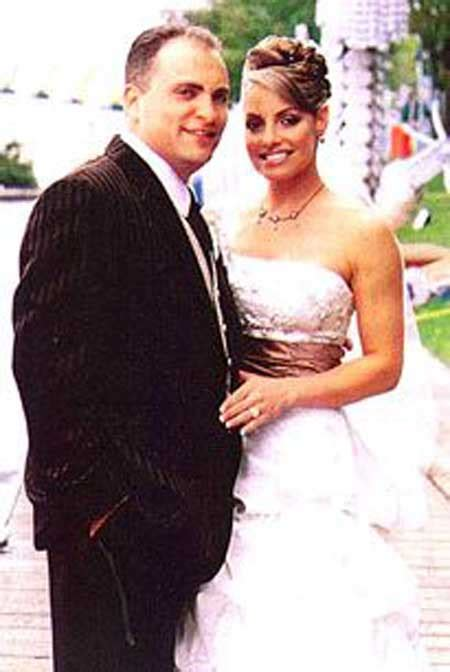 trish stratus wedding ron fisico and wife trish stratus are married in 2006