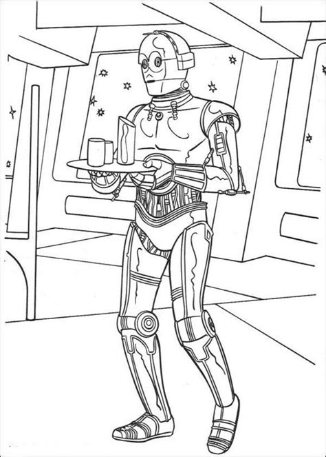 C 3po Coloring Pages by Robot C 3po Wars Coloring Pages For