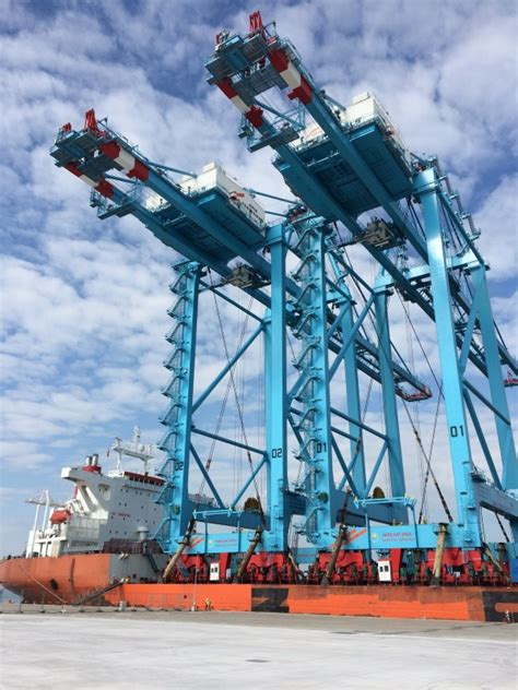 big rubber sts apm terminals izmir prepares for 2016 opening port news