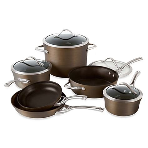 bed bath and beyond pots buy calphalon cookware sets from bed bath beyond