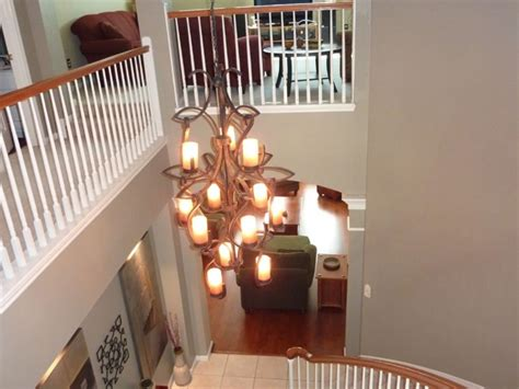 2 story foyer lighting sizing 2 story foyer chandelier stabbedinback foyer 2