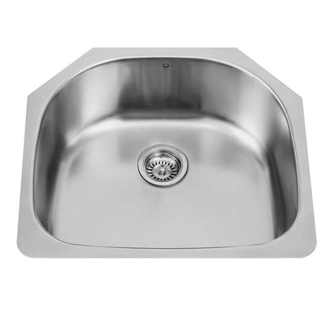 Where Are Vigo Sinks Made by Vigo Undermount 24 In Single Basin Kitchen Sink In