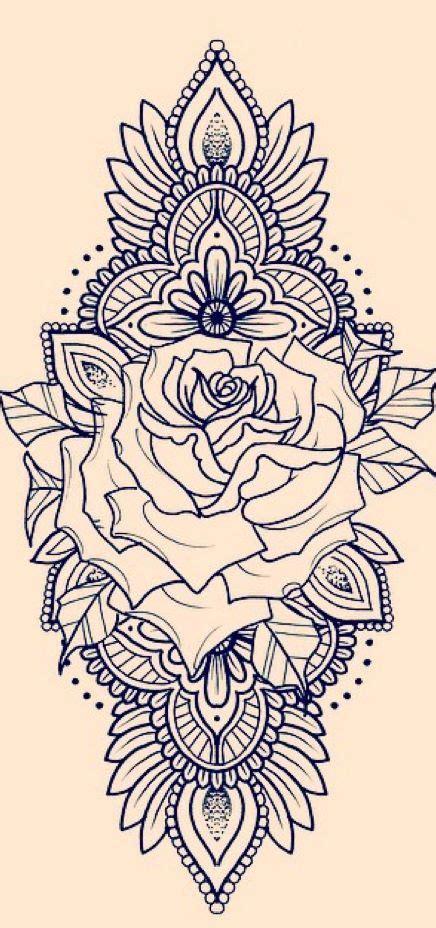 tattoo mandala de jong les 25 meilleures id 233 es de la cat 233 gorie rose mandala