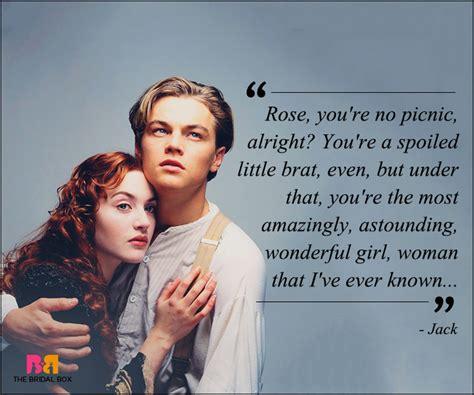 titanic film love quotes famous movie love quotes titanic www imgkid com the
