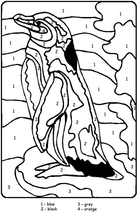 emperor penguin colouring pages page 3