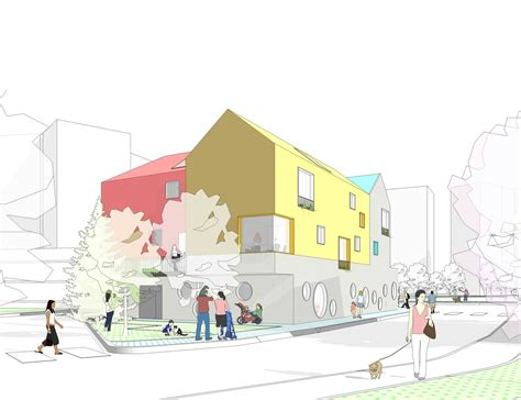 korean design competition daniel valle architects unveils winning kindergarten