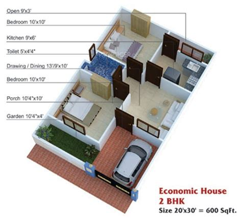 600 sq ft house design india 2 bedroom house plans indian style inspirational 600 sq ft