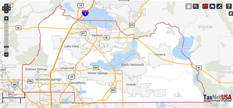 Seminole County Records Seminole County Florida Property Search And Interactive Gis Map