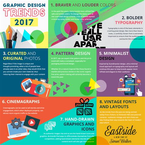 graphic design trends 2017 mataris trends designcontest