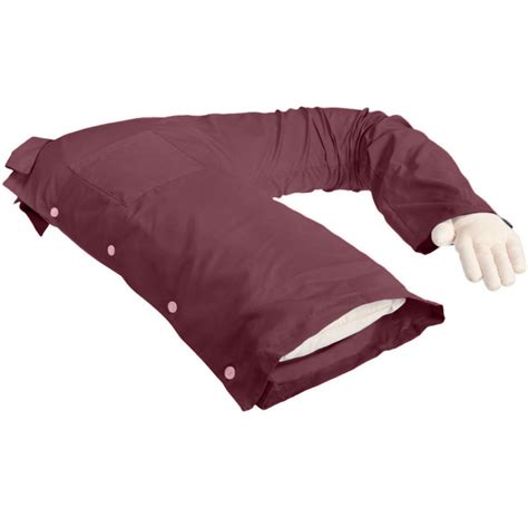 maroon gag boyfriend pillow companion pillow