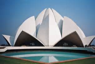 Who Built Lotus Temple Lotus Temple New Delhi Temples Of India