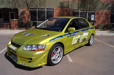 mitsubishi lancer evolution fast and furious 2001 mitsubishi evo custom 4 door 2 fast 2 furious 161427