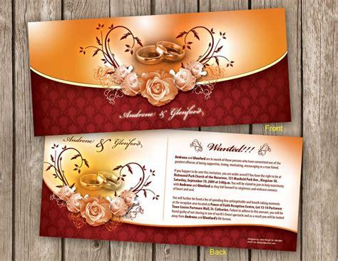 wedding invitation designs psd a and d wedding invitation by owdesigns on deviantart