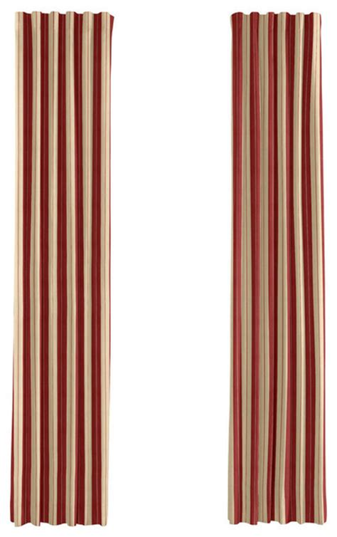 tan and red curtains red and tan striped curtains 28 images set of four red