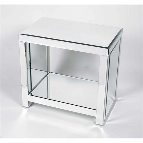 mirrored side table cheap mirrored console table odyssey coaches mirrored table