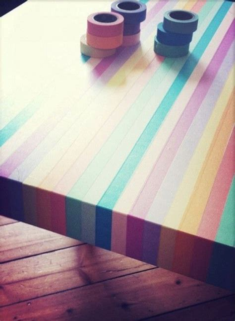 washi tape designs colorful washi tape table designs