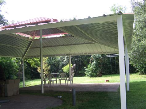 Metall Pavillon by Backyard All Steel Custom Pavilion West San Antonio