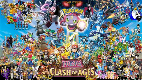legendarios painting show team robot in pok 233 mon the hoopa and the clash of