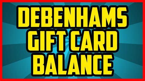 gift card balance check debenhams infocard co - Debenhams Gift Card Balance Checker