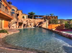 Nevada Backyard Water Park Mansion In Boulder City Nevada Usa