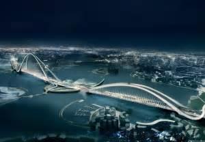 dubai building world s most futuristic arch bridge dailyapps