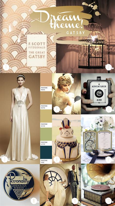 themes for the great gatsby dream theme diaries great gatsby paperknots
