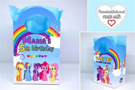 My Pony Blue N Pink personalised my pony bags pink or blue