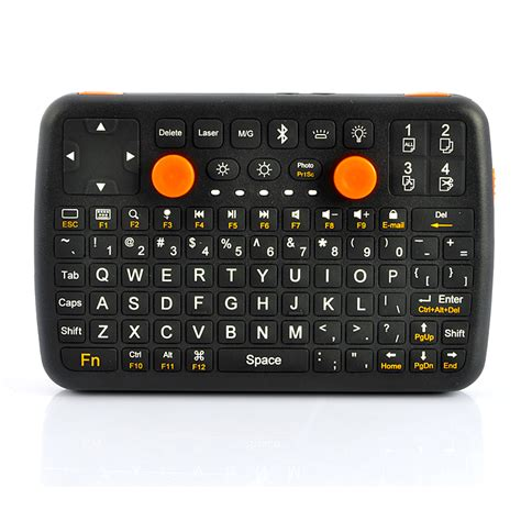 small keyboard android mini bluetooth qwerty gaming keyboard for android tv windows android pc mac tpt a163 us