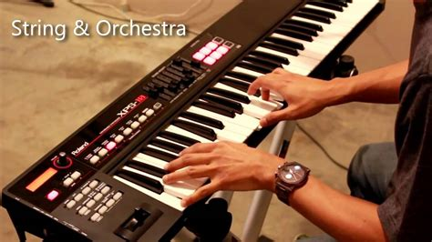Keyboard Roland Xps review roland xps 10 thai version ep 1 doovi