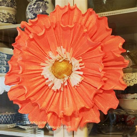 How To Make Large Crepe Paper Flowers - crepe paper flowers diy flower decorations