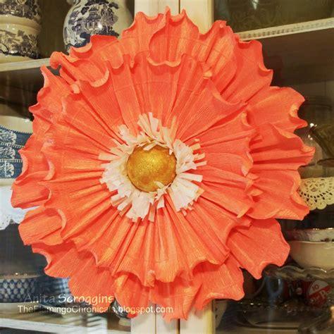 crepe paper flowers diy flower decorations