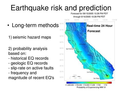 earthquake prediction ppt geog 1011 landscapes and water fall 2005 adina