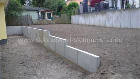 beton palisaden granit palisaden  stein