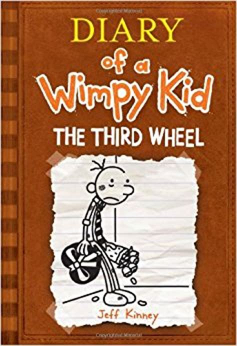 diary of a wimpy kid third wheel book report the third wheel diary of a wimpy kid book 7 jeff