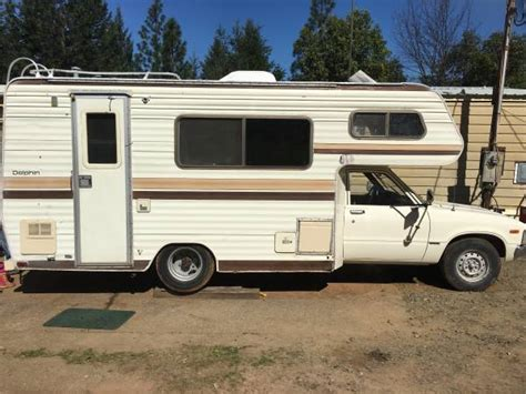 Toyota Motorhome 1982 Toyota Dolphin Motorhome For Sale In Merlin Or