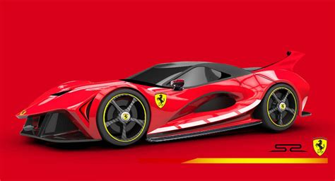 Ferrari Concept by Track Focused Ferrari S2 Design Study Has Us Dreaming Of