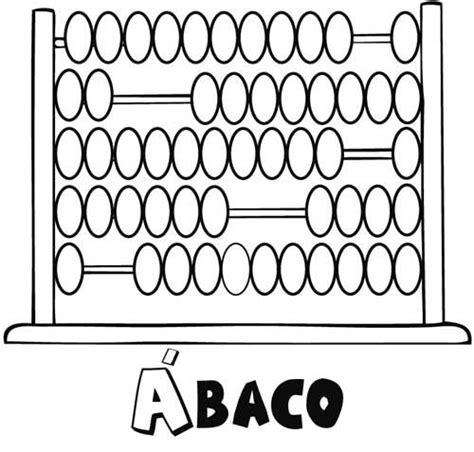 imagenes a blanco y negro de matematicas dibujo para colorear con los ni 241 os de un 225 baco