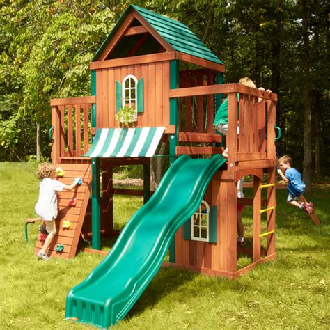 swing n slide winchester wood complete swing set reviews