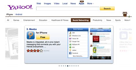 Profile Yahoo Search Yahoo Builds App Search For Pc Appspot For Iphone Android Search Engine Land