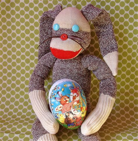 easter sock bunny allfreesewing