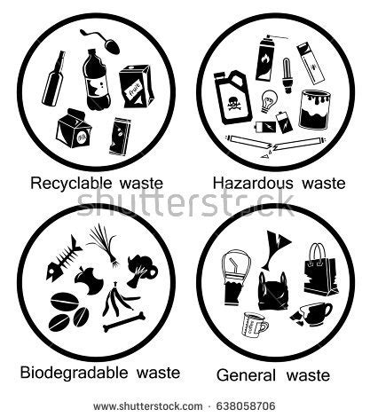Biodegradable Drawing trash clipart biodegradable waste pencil and in color