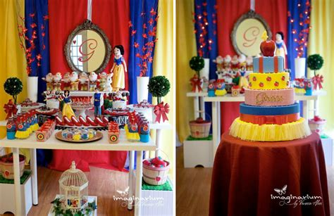 Snow White Birthday Decorations disney princess snow white 4th birthday planning ideas