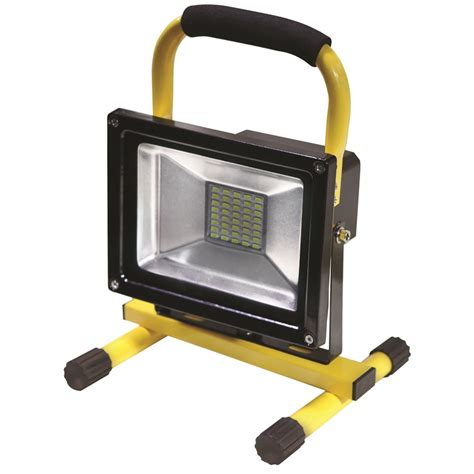 Led Rechargeable Work Light by Nu Tec 20w Rechargeable Led Worklight Bunnings Warehouse
