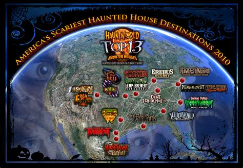 Philadelphia Haunted House 13 Floors by America S Top 13 Scariest Destinations 2010