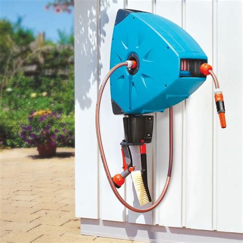 Most Rugged Automatic by 1000 Ideas About Hose Reel On Garden Hose