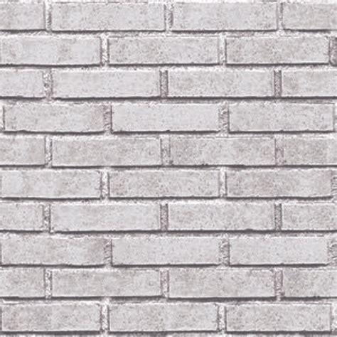 jual wallpaper batu bata putih  merah  lapak