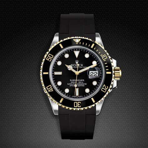Rubber B For Rolex Submariner for rolex submariner ceramic glidelock edition